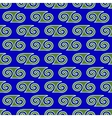 Spiral geometric seamless pattern 3507 vector image vector image
