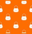 woman bag pattern seamless vector image vector image