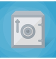 metal safe icon vector image