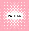 abstract square pattern pink background ima vector image