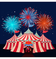 Circus vector image vector image