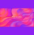 elegance fluid gradient abstract vector image vector image