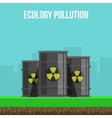 Environmental Pollution Poster vector image vector image