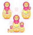 Mothers Day Matryoshka vector image vector image