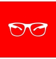 Sunglasses sign vector image vector image