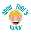 april fool s day vector image