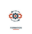 formation icon premium style design from teamwork vector image