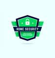 home security badge ultimate protection stamp vector image vector image