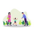 parenting concept vector image