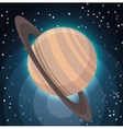 universe planets space concept vector image vector image