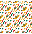 bright seamless mexican pattern vector image