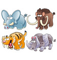 Ancient Animals vector image