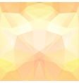 background made pastel yellow triangles square vector image