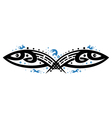 Fishes tribal vector image vector image