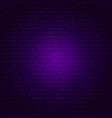 purple brick wall vector image vector image