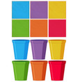 set color object vector image