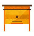 beehive icon for food vector image