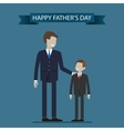 Father and Son vector image