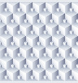 geometric abstract background 3d cubes pattern vector image vector image