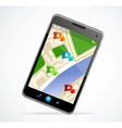 Gps navigator interface and city map vector | Price: 1 Credit (USD $1)