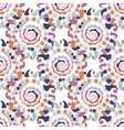 Vintage seamless pattern for your design vector image