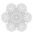 zentangle background wallpaper texture pattern vector image vector image