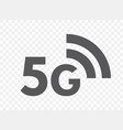 5g network technology icon fifth generation vector image vector image