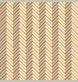 abstract seamless fashion zigzag pattern vector image vector image