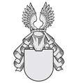 aristocratic emblem No33 vector image vector image