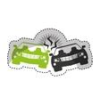 car isurance service icon vector image vector image