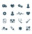 flat medical and pharmaceutical icon set vector image vector image
