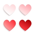 I love you Set Valentines Day vector image vector image