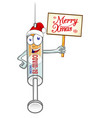 medical syringe vaccine corona virus covid-19 vector image