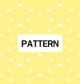modern overlap hexagon pattern yellow background v vector image