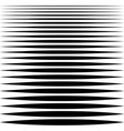 set sharp horizontal lines different profile vector image vector image