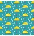 Umbrella vs Rain vector image