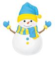 snowman ukraine vector image