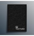 canvas texture design for flyer poster brochure vector image