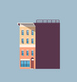 city building house urban real estate concept vector image vector image