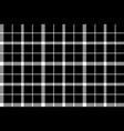 flower of scotland tartan black pixel fabric vector image