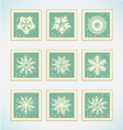 merry-christmas-card vector image vector image