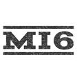 MI6 Watermark Stamp vector image vector image