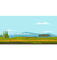 Nature Landscape Background vector image vector image