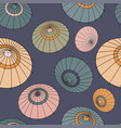 seamless pattern with vintage colourful vector image vector image