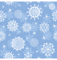 snowflakes seamless vector image vector image