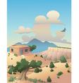 southwestern desert vector image