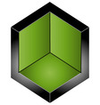 Space- architectural logo vector image vector image
