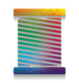 thread sign colorful icon vector image