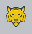tiger logo icon design vector image vector image
