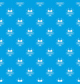 brassiere pattern seamless blue vector image